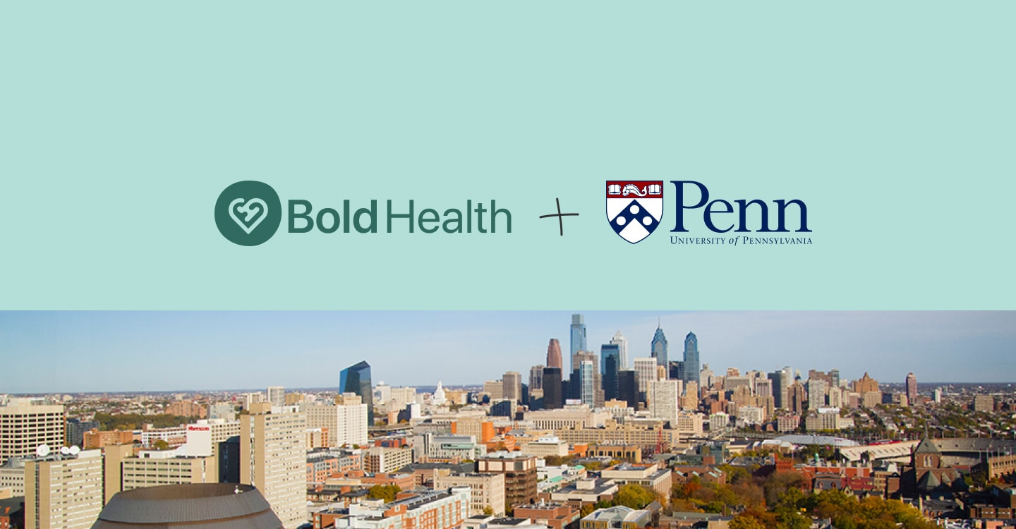Bold Health & UPenn join forces