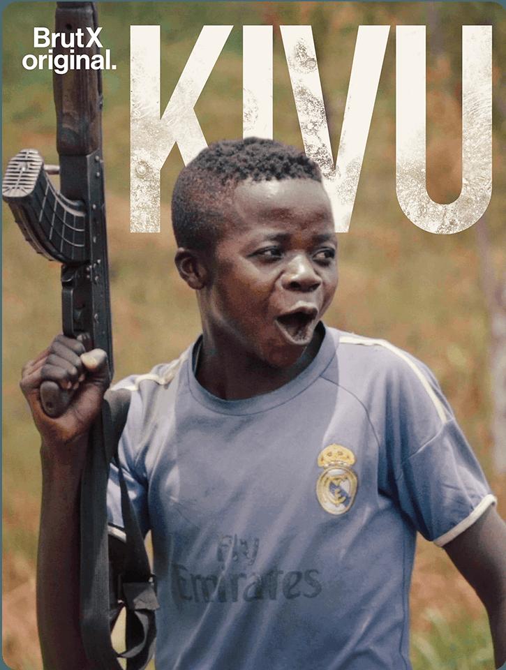 Kivu : un doc BrutX Original par Charles Villa, grand reporter pour Brut : un face-à-face irréel avec un chef de guerre et une armée d'enfants soldats.