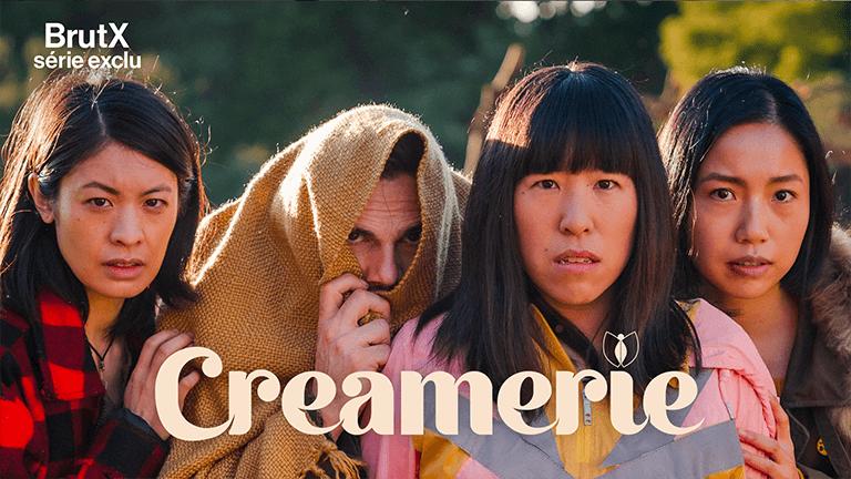 En exclusivité sur BrutX la série Creamerie : une comédie dystopique et déjantée inédite en France où trois femmes tentent de survivre dans une société étrange, ravagée par le passage d'un virus destructeur.