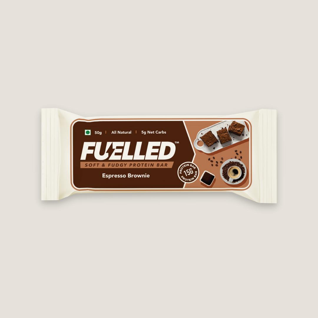 Fuelled Espresso Brownie Protein Bar