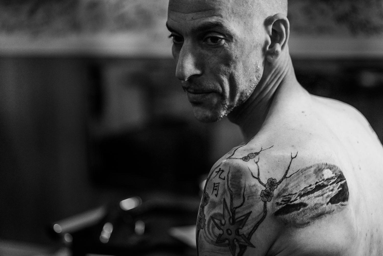 Documentary Tattoo Photoshoot