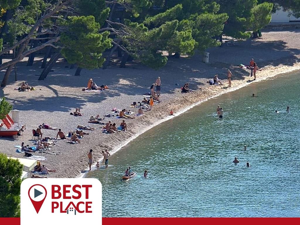MAKARSKA RIVIERA KROATIEN: Traumhafte Maisonette an der schönsten Küste Kroatiens.