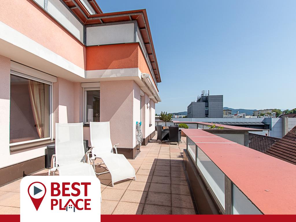 Eleganter Seniorenwohnsitz mit Pflegezimmer in stufenfreier Zentrumslage in Klagenfurt