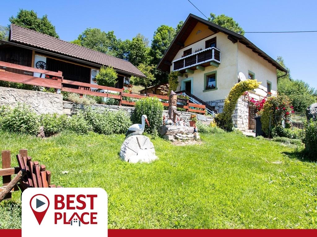 VERKAUFT: Uriges Häuschen mit liebevoll gepflegtem Garten - mit  teilweise Wohnrecht