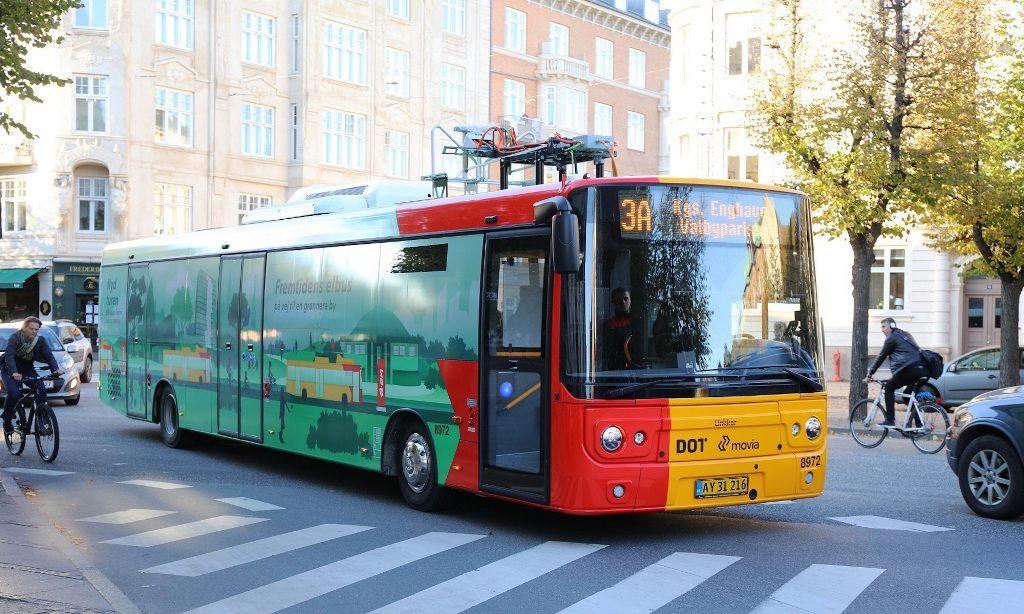 Electric busses in Copenhagen