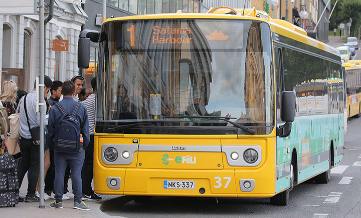 Leading pilot project for Finnish city of Turku
