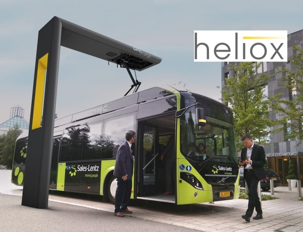 Fast charging Volvo's first all-electric bus in Luxembourg