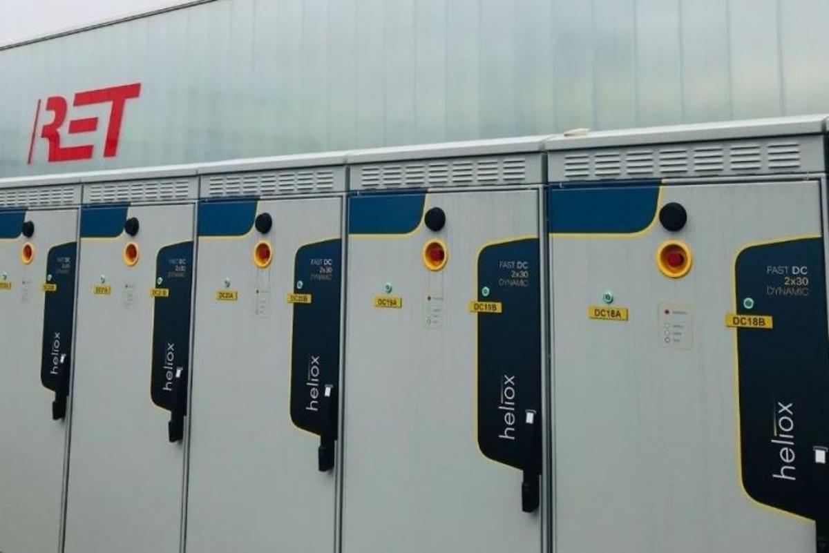 First underground chargers installed in Rotterdam