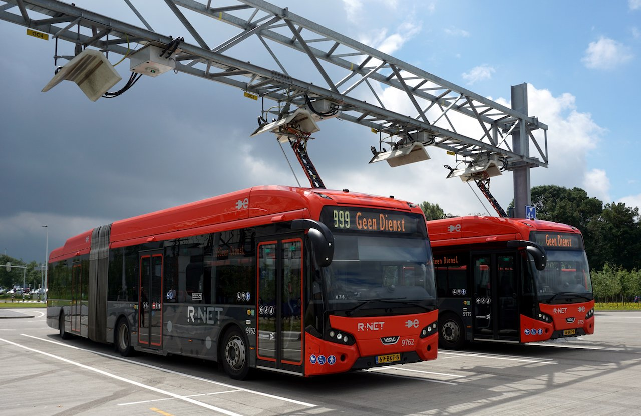 Amsterdam's public e-bus network - A challenging proposition