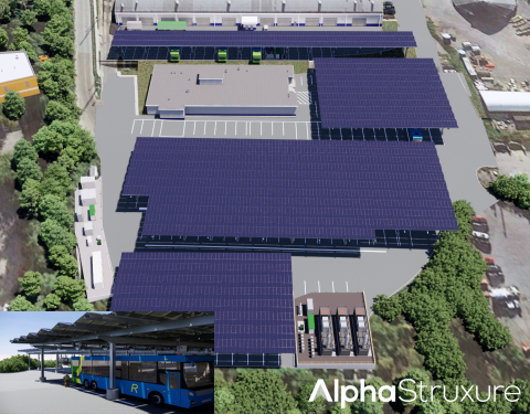 AlphaStruxure, a joint venture of The Carlyle Group and Schneider Electric, Announces Integrated Fleet Electrification Infrastructure Project to Support Montgomery County, Maryland's Growing Electric Bus Fleet