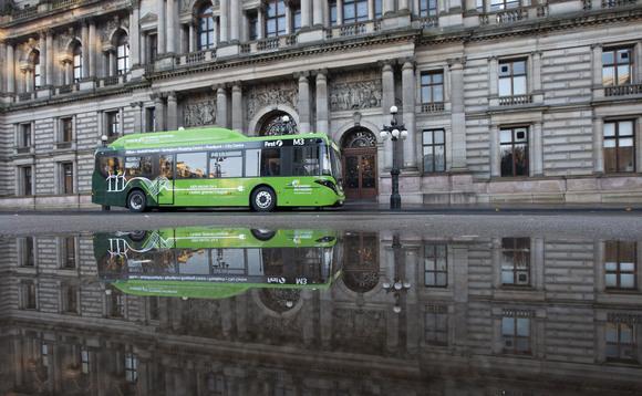 Britain's biggest bus depot goes green: First Bus kicks off electric retrofit of Glasgow hub