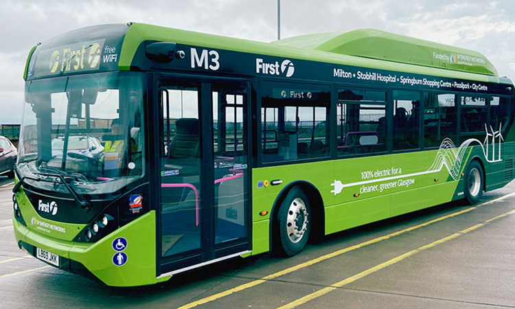 Heliox tapped by First Bus to Power 300 e-Busses in Glasgow