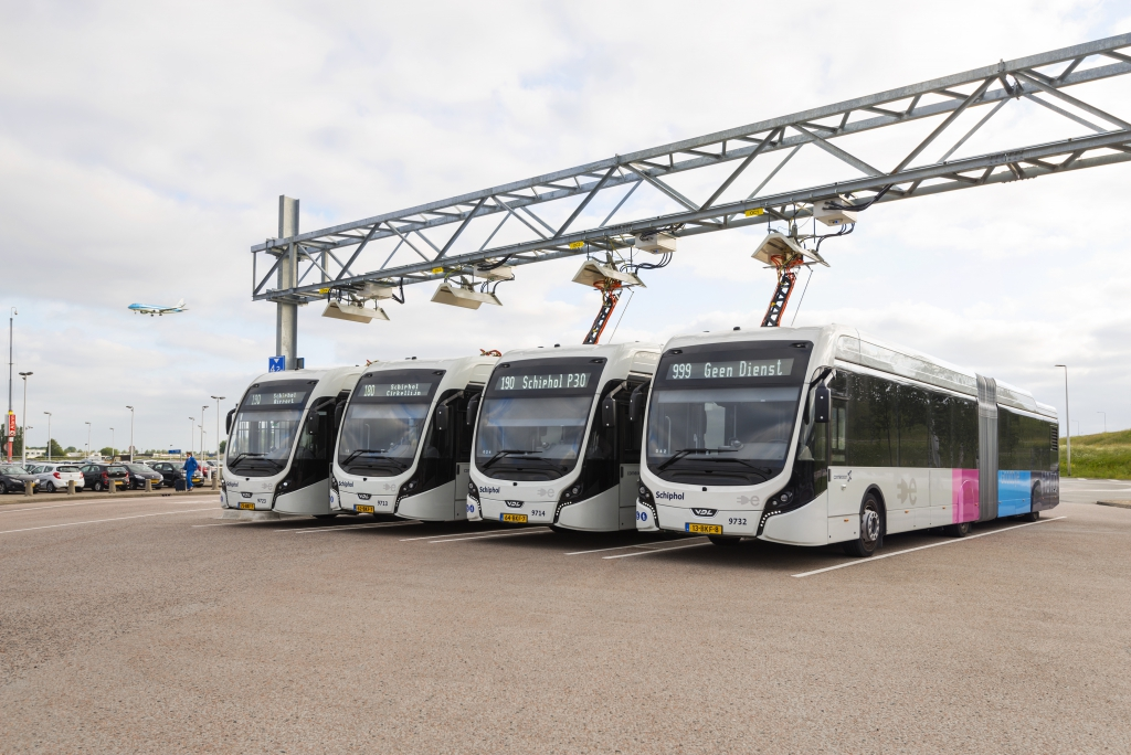 Heliox's Fast Charging infrastructure powers the WORLD's largest implementation of electric buses