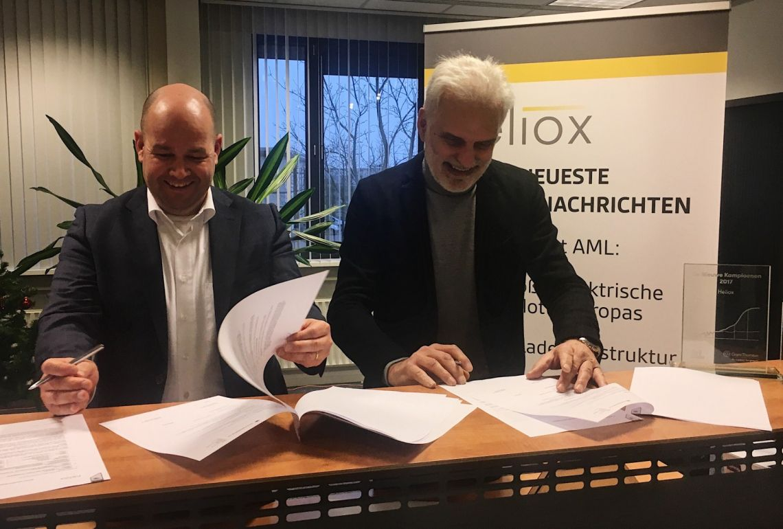 Heliox and Croonwolter&Dros partner for environmentally-friendly public transportation