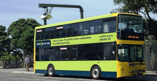 Heliox fast chargers power New Zealand's first 10 electric double-deck buses