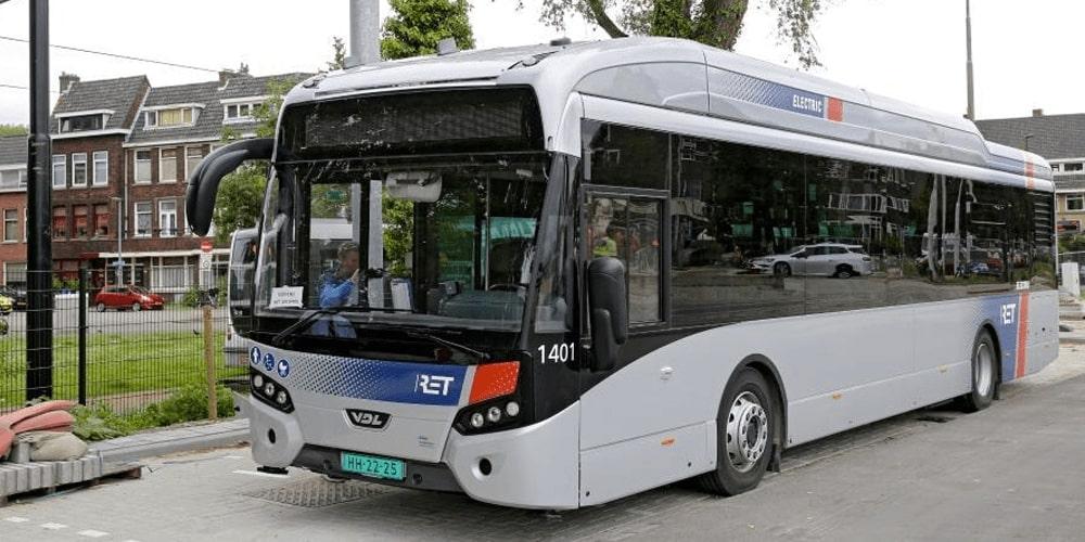 Heliox powers 55 e-busses for Rotterdam RET concession