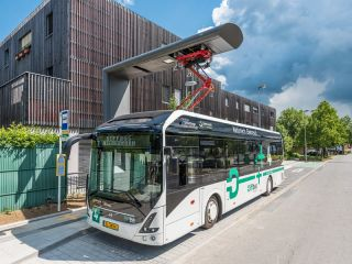 Heliox fast charges Volvo's first all-electric buses in Luxembourg