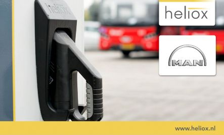 Heliox charging infrastructure partner to MAN Truck & Bus SE