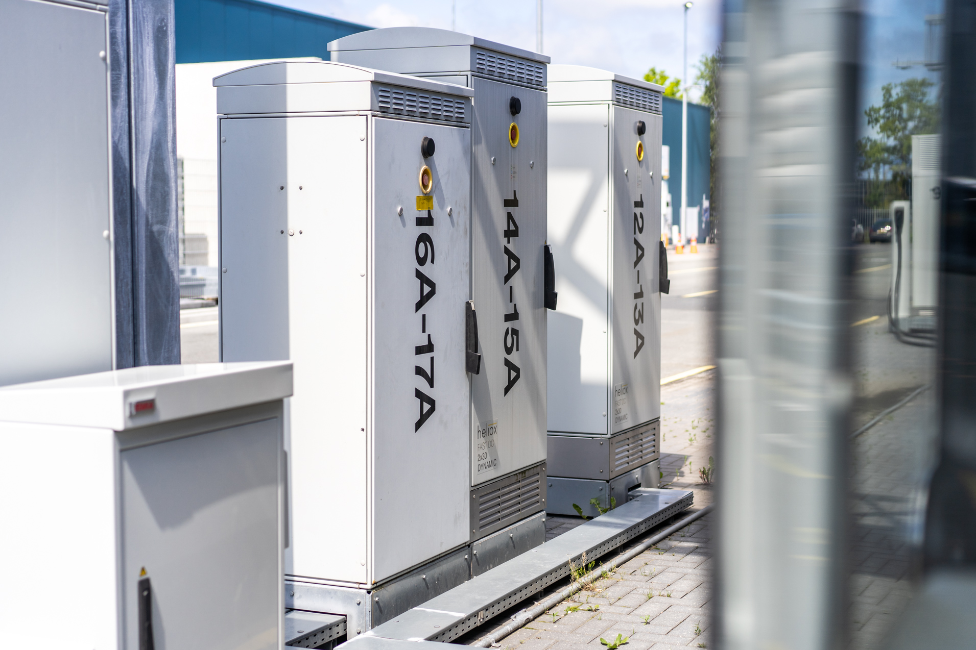 Heliox implements charging infrastructure with DC outlet at Darmstadt
