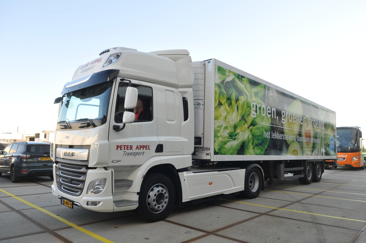 Getting Albert Heijn's e-trucks charged and back on the road: Netherlands