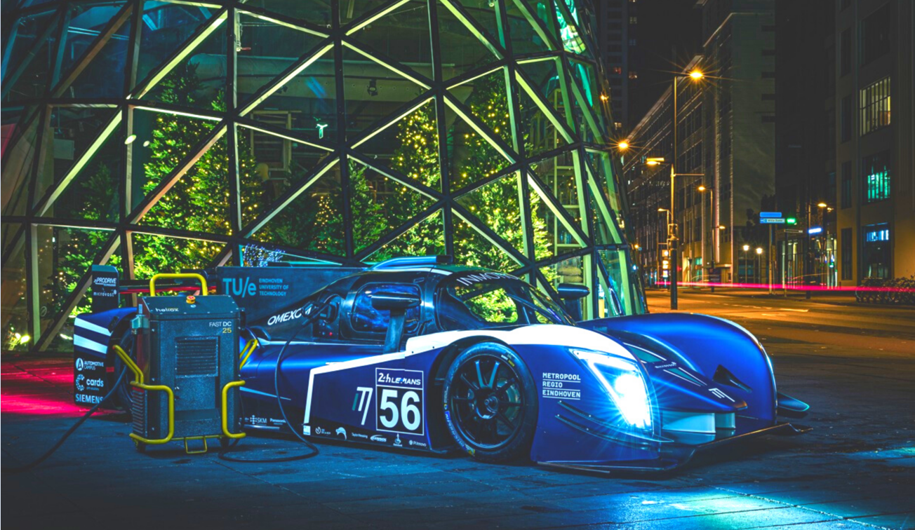 Heliox powers the newest Endurance Racer Car from InMotion