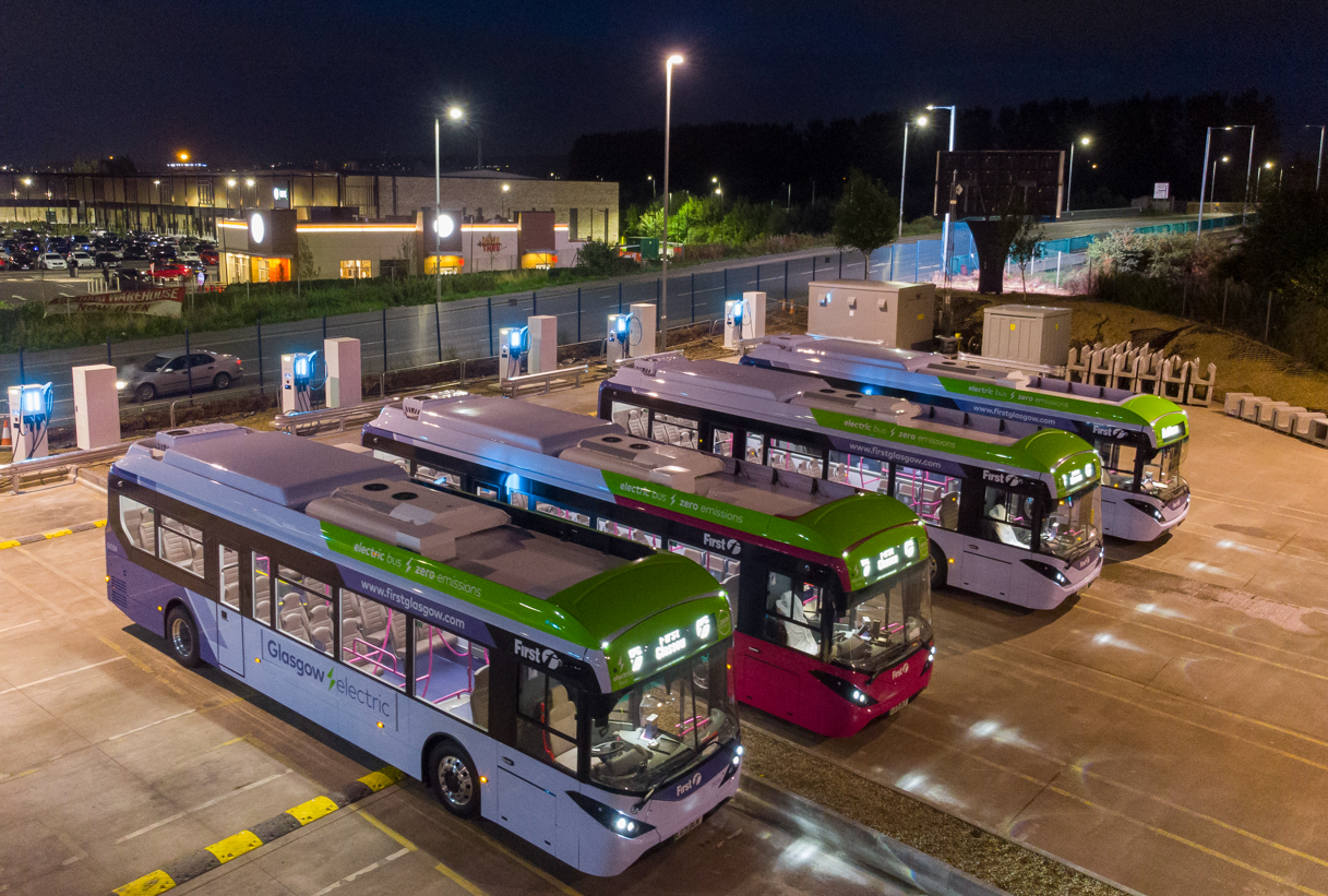 Four hours are enough to charge the vehicles in UK's largest e-bus depot