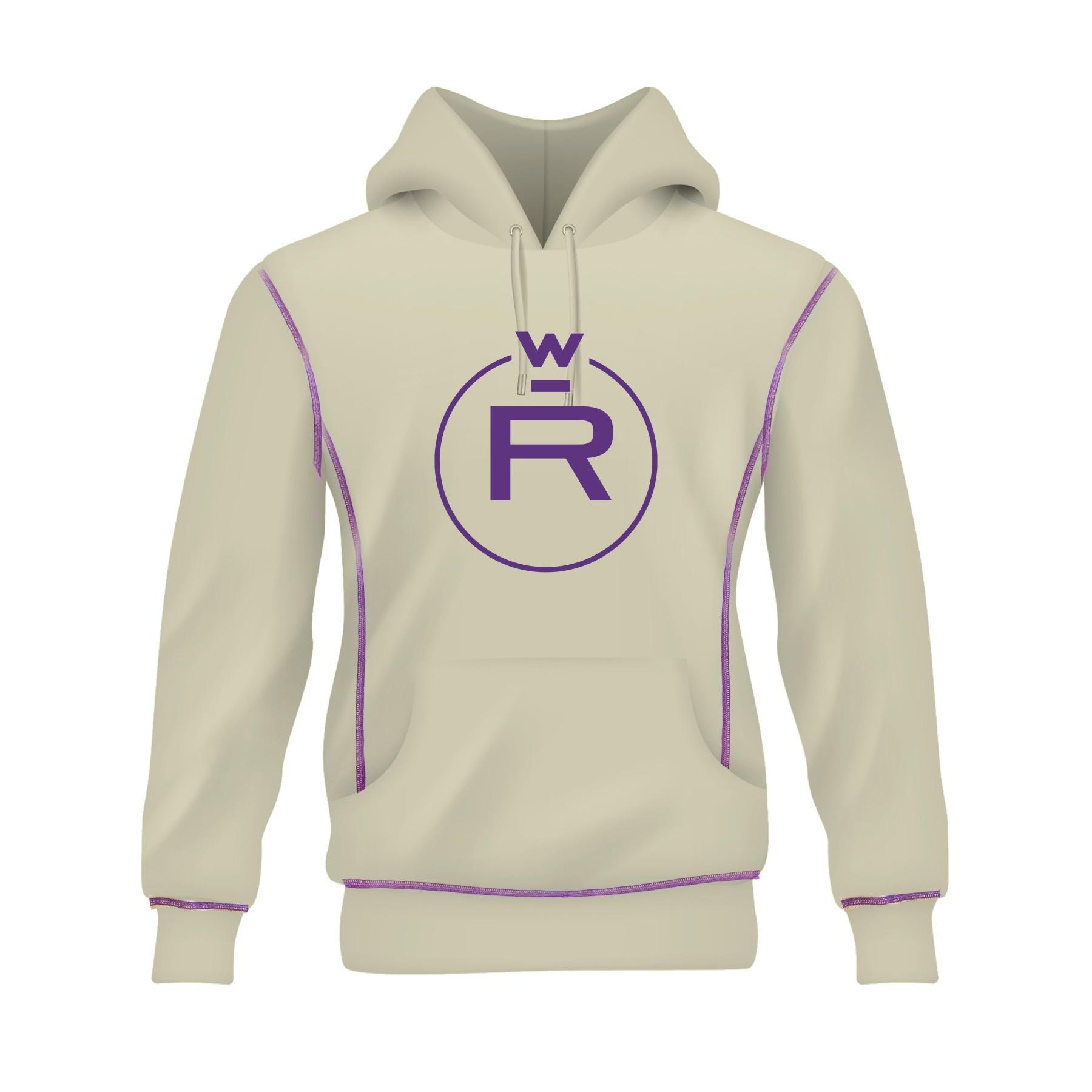Horchata/Purple Clover Hoodie