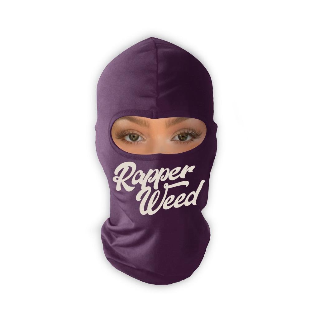 RW Purple Balaclava Ski Mask