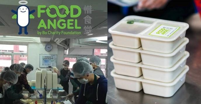 Team ADAN participates in the Food Angel assistance program
