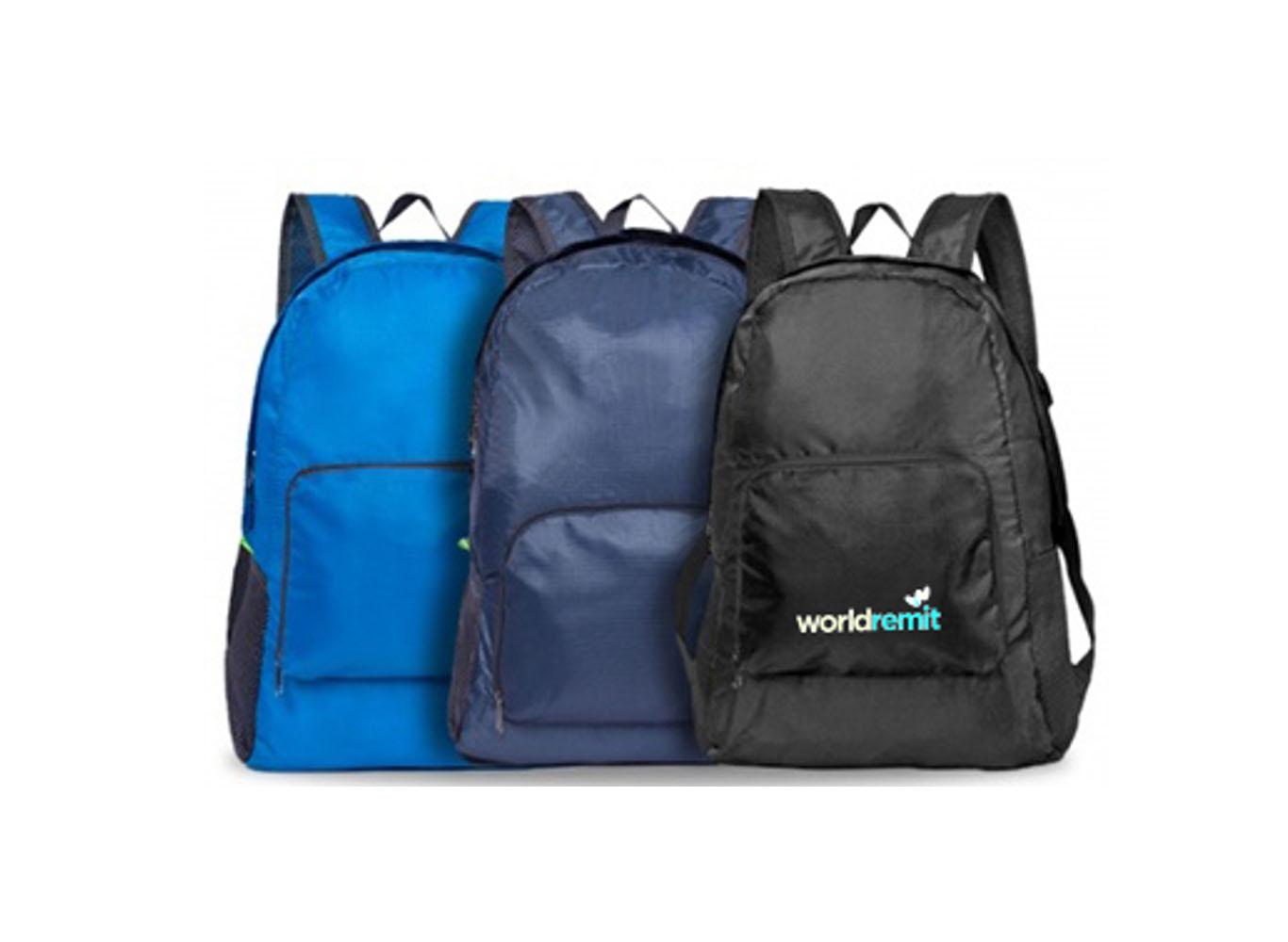 RPET Foldup Backpack