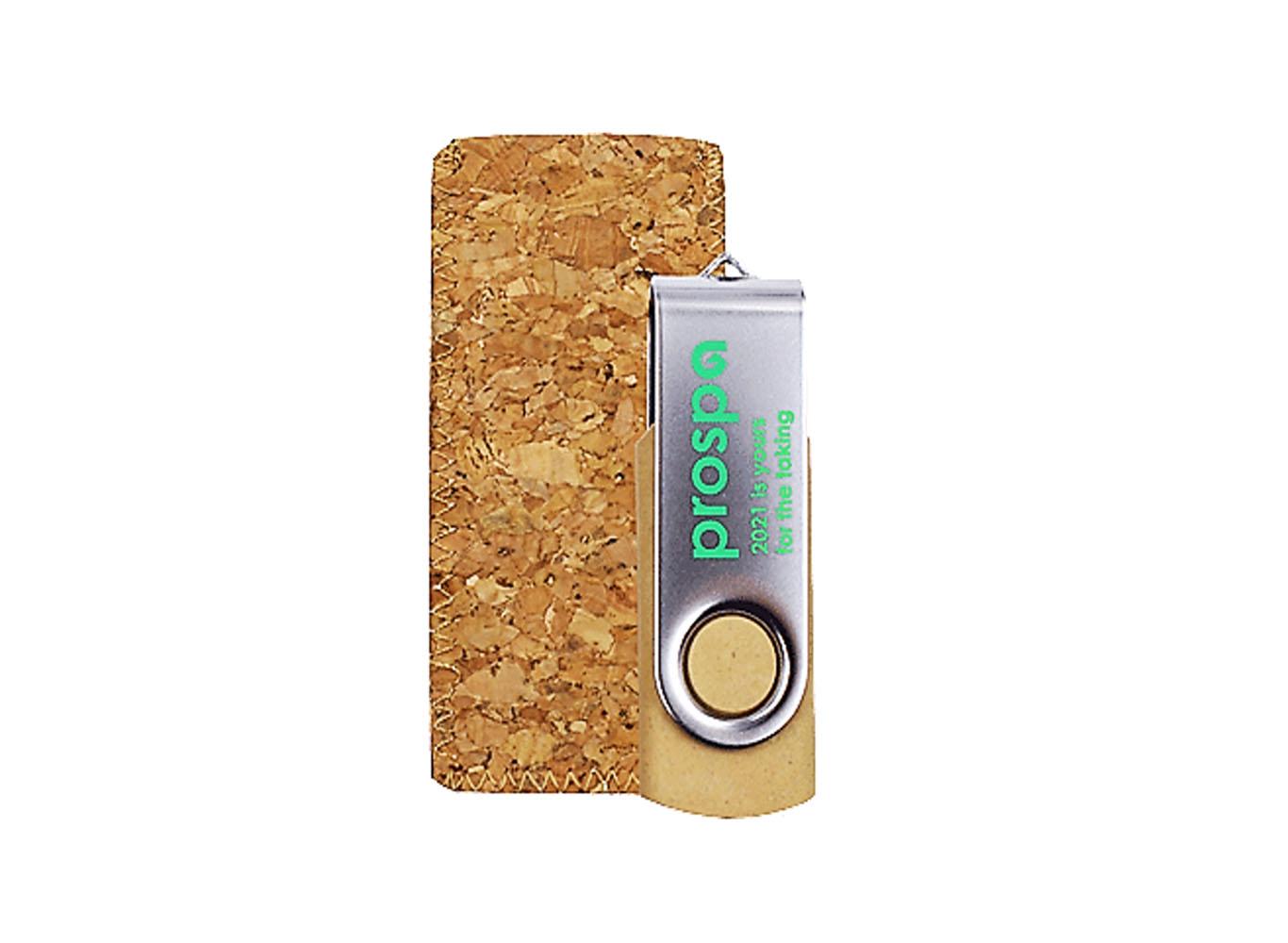 Wheat Straw Fiber Swivel USB