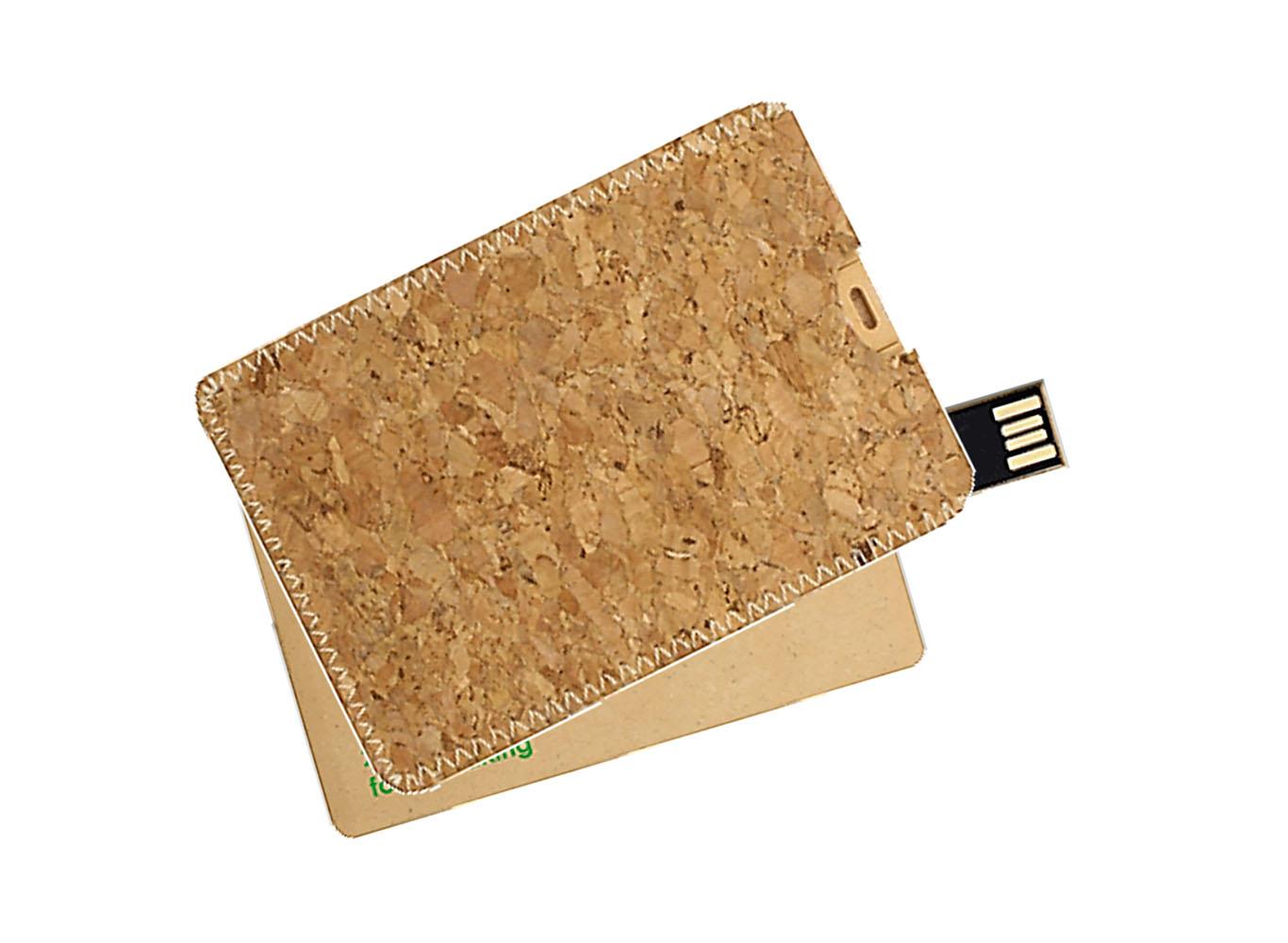 Wheat Straw Fiber USB Card