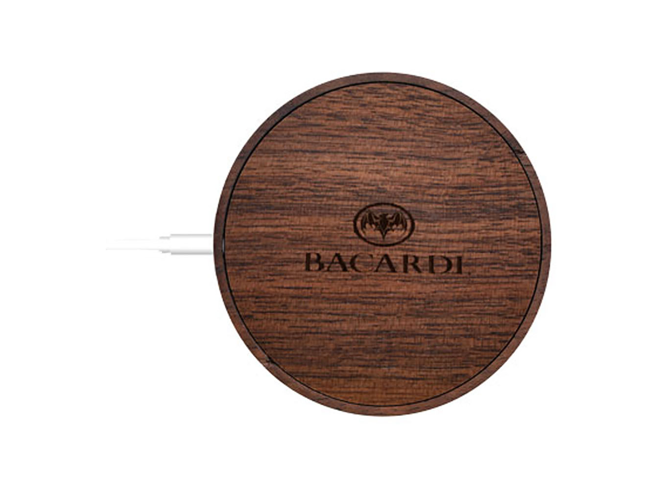 Wooden Magnetic Suction Wireless Charger