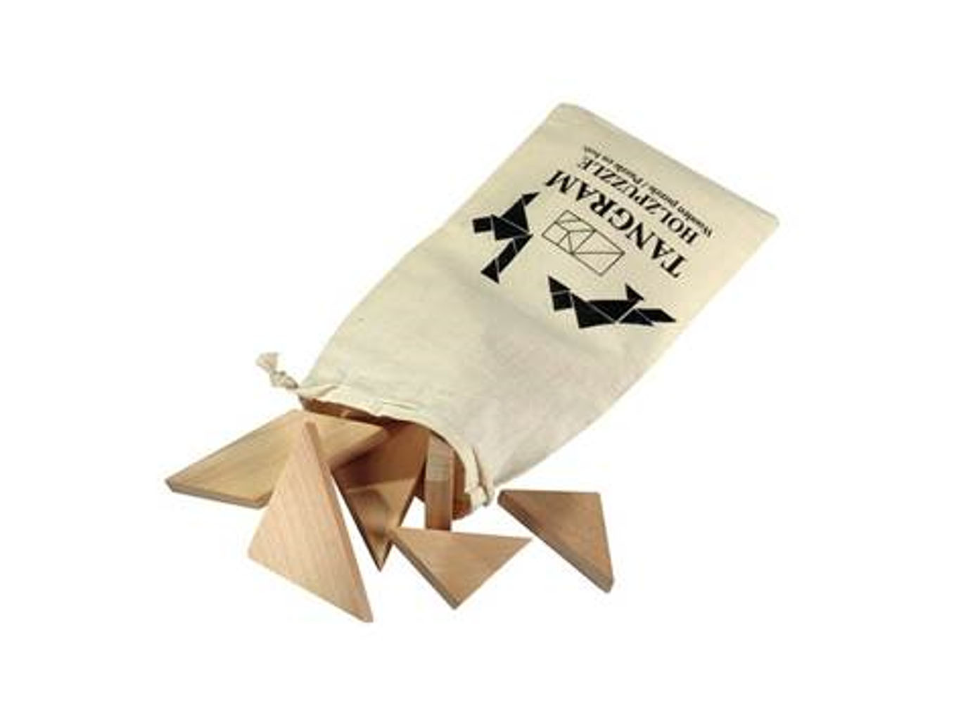Eco Wooden Tangram Puzzle