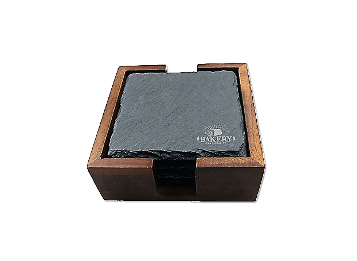 Eco Premium Coaster Natural Slate Stone