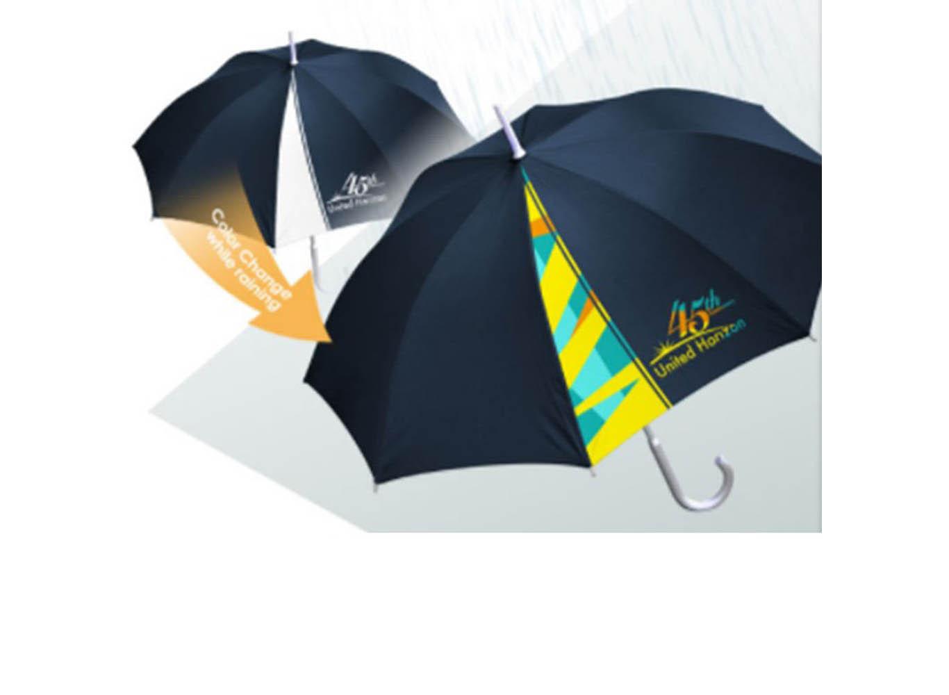 Custom Color Changing Umbrella