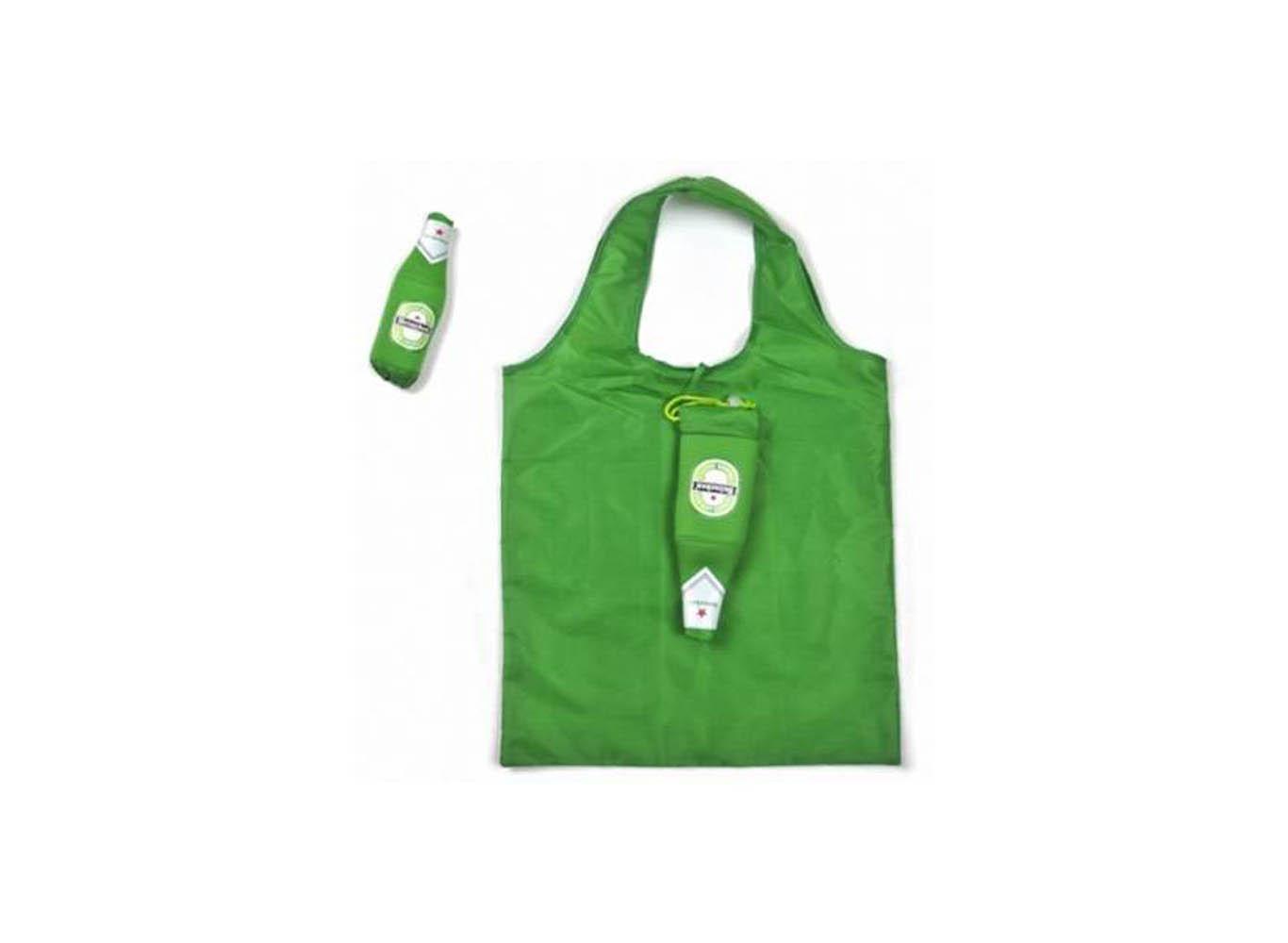 Custom Bottle Shape Foldable Bag