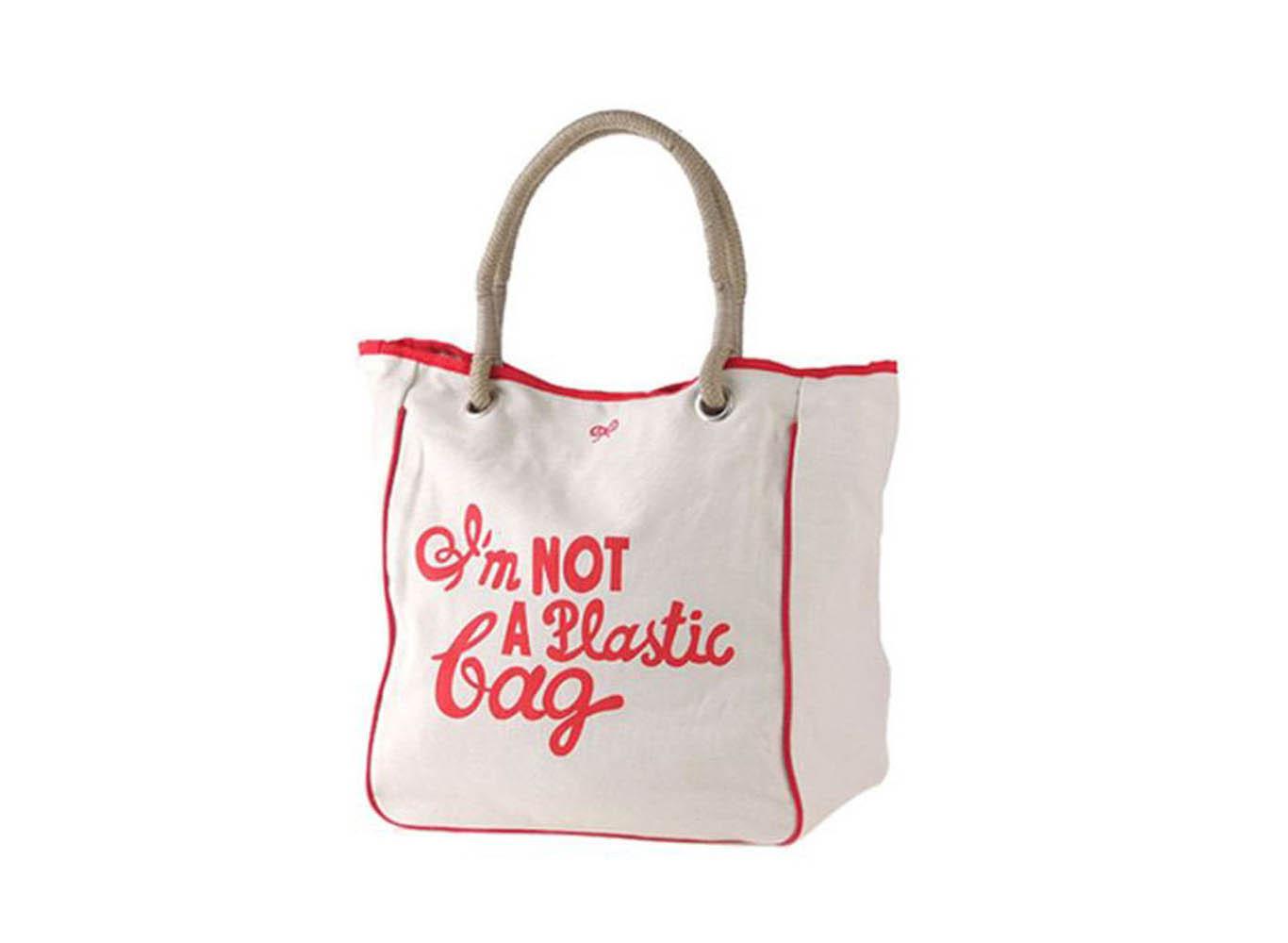 Custom Printed Canvas Tote Shopping Bag