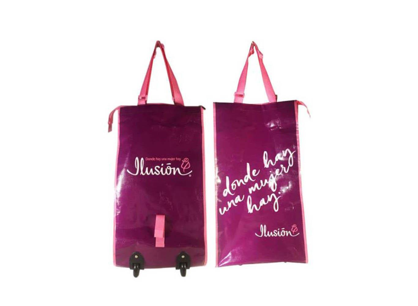 Custom Trolley Bag On Wheels