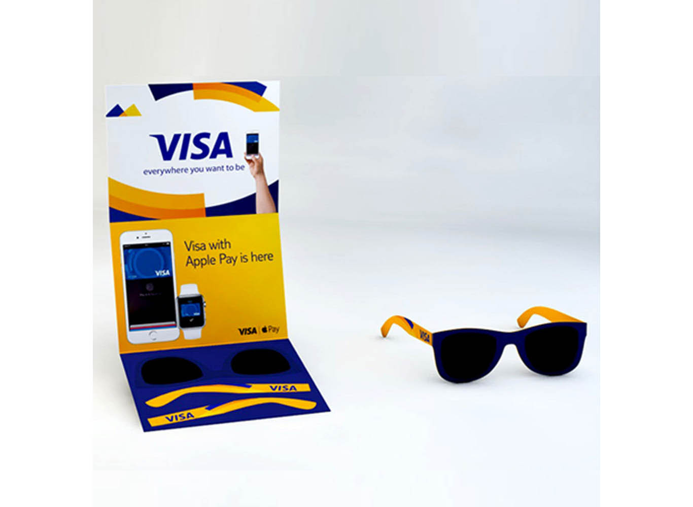 Pop Out Sunglasses Card