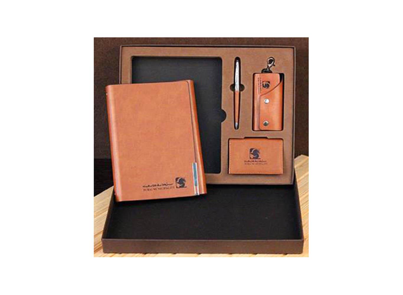 Leather Executive Gift Set