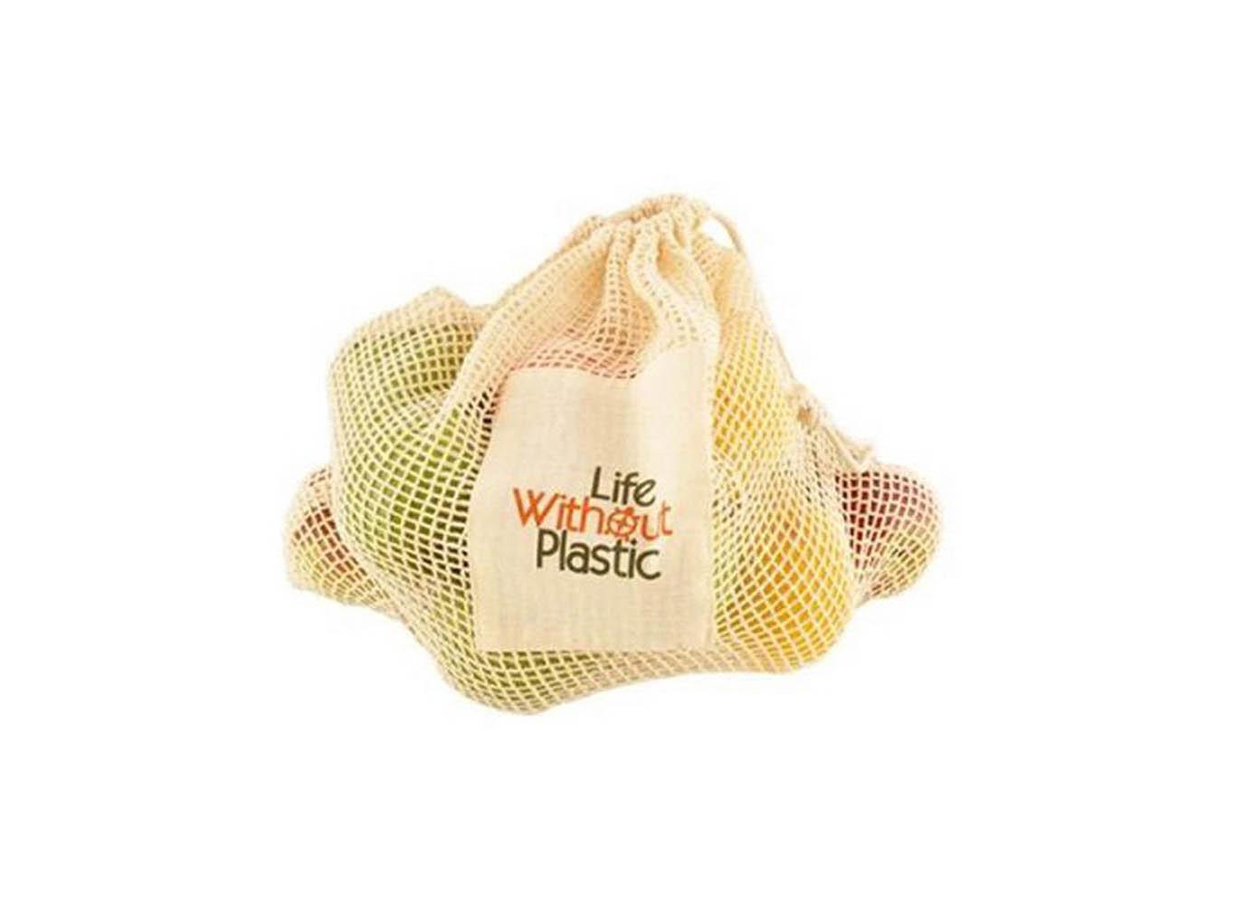 Custom Printed Reusable Mesh Produce Bag