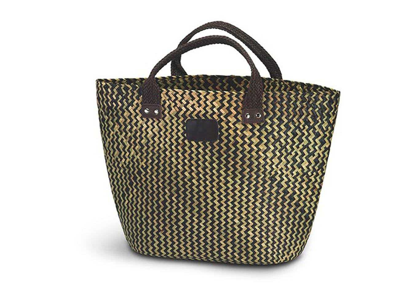 Custom 100% Straw Tote Bag