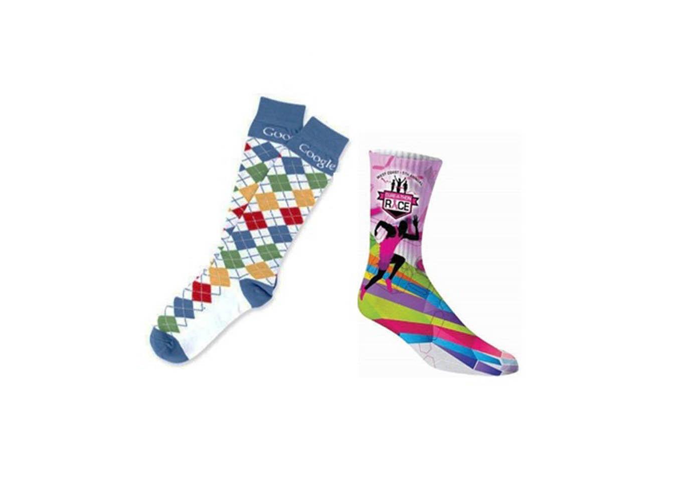 Custom Printed Funky Socks