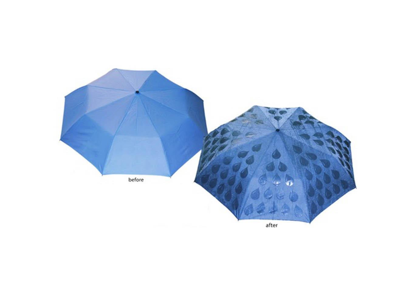 Custom Print Color Changing Umbrella