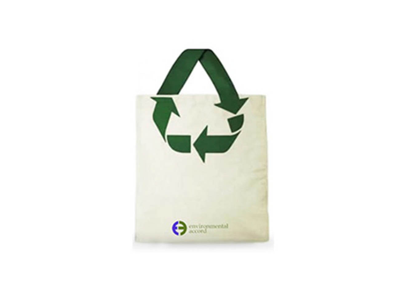 Eco-Friendly Recycle Logo Design Promotional Tote Bag