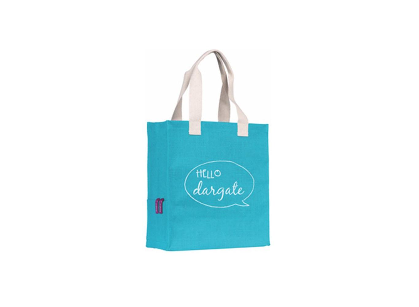 Custom Design Jute Fabric Bag