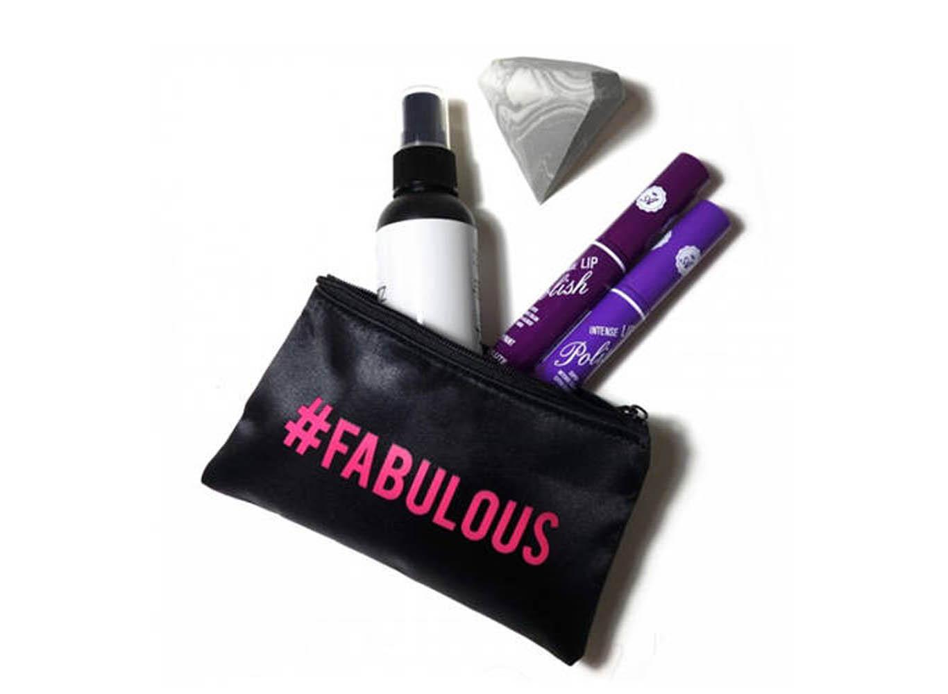 Mini Make Up Bag Custom Print