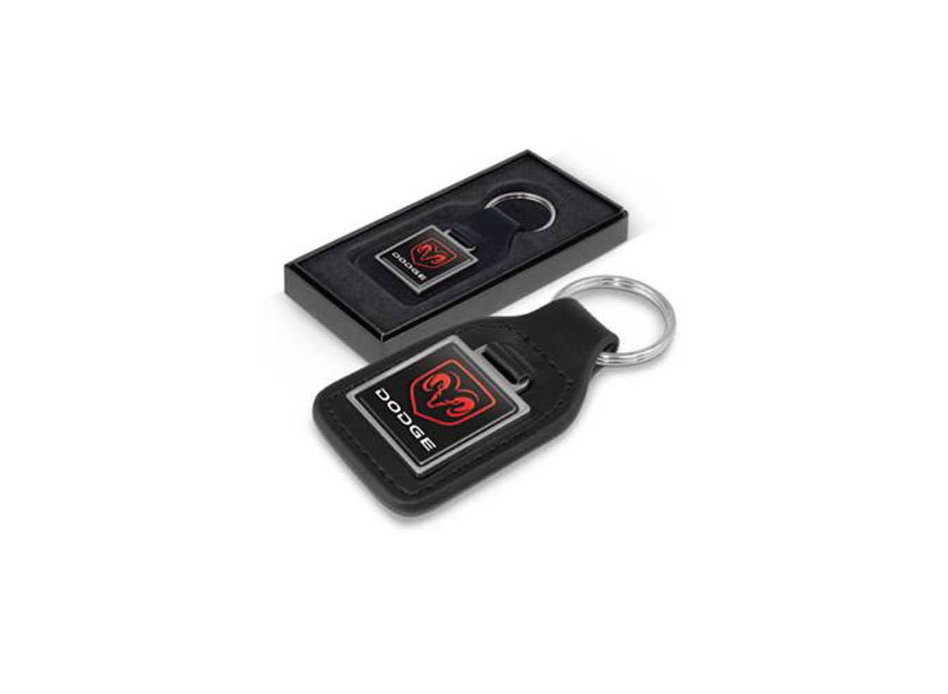 Premium Quality Leather Car Keychain