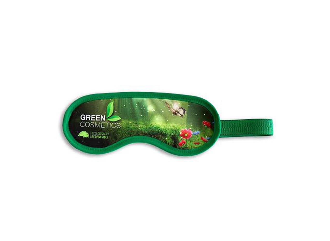 Snuggly Soft Custom Printed Microfiber Eye Mask